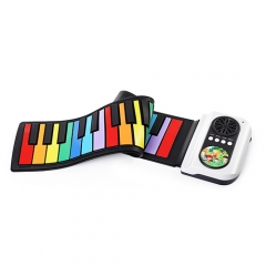 37 Keys Silicone Roll Up Piano