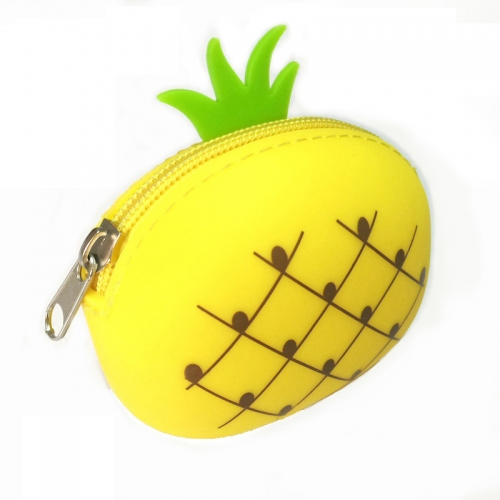 Silicone Pineapple Toy Bag