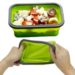 Silicone Foldable Lunch Box