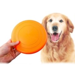 Silicone Pet Frisbee/Food Plate